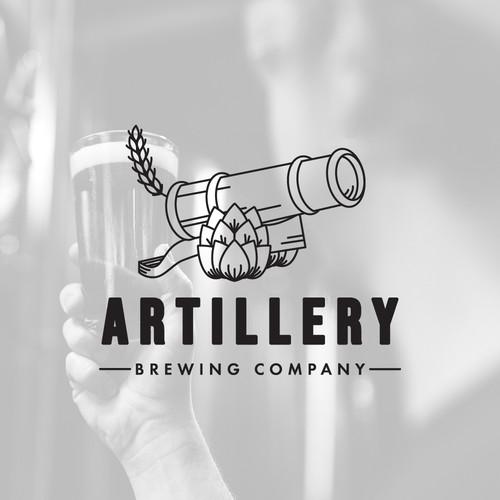 Artillery Brewing Logo Design