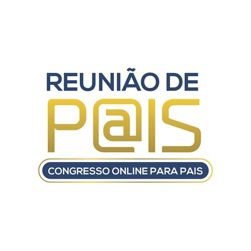 Logotipo Congresso Online Reunião de Pais