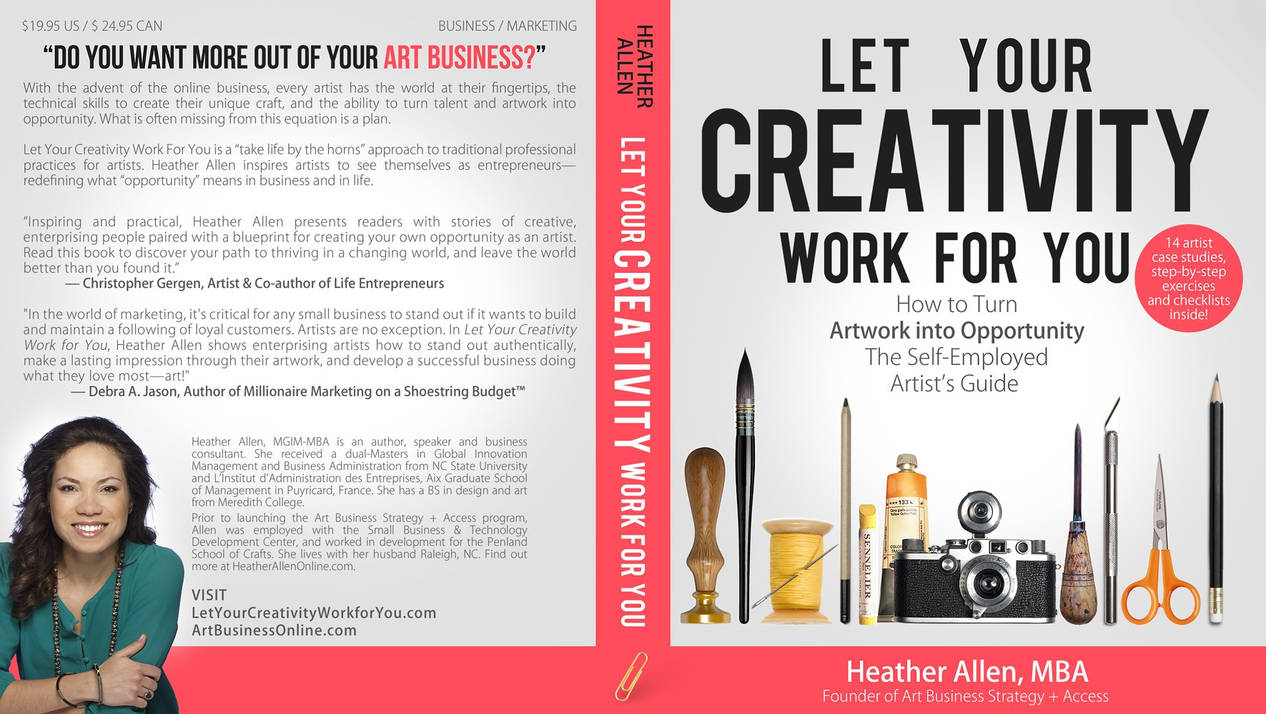 Design the paperback / eBook Cover of a business book for artists (plus get a free copy)