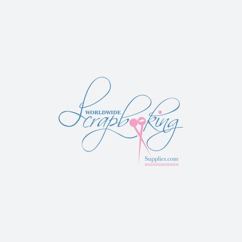Logo design for Worldwide Scrapbooking Supplies.com