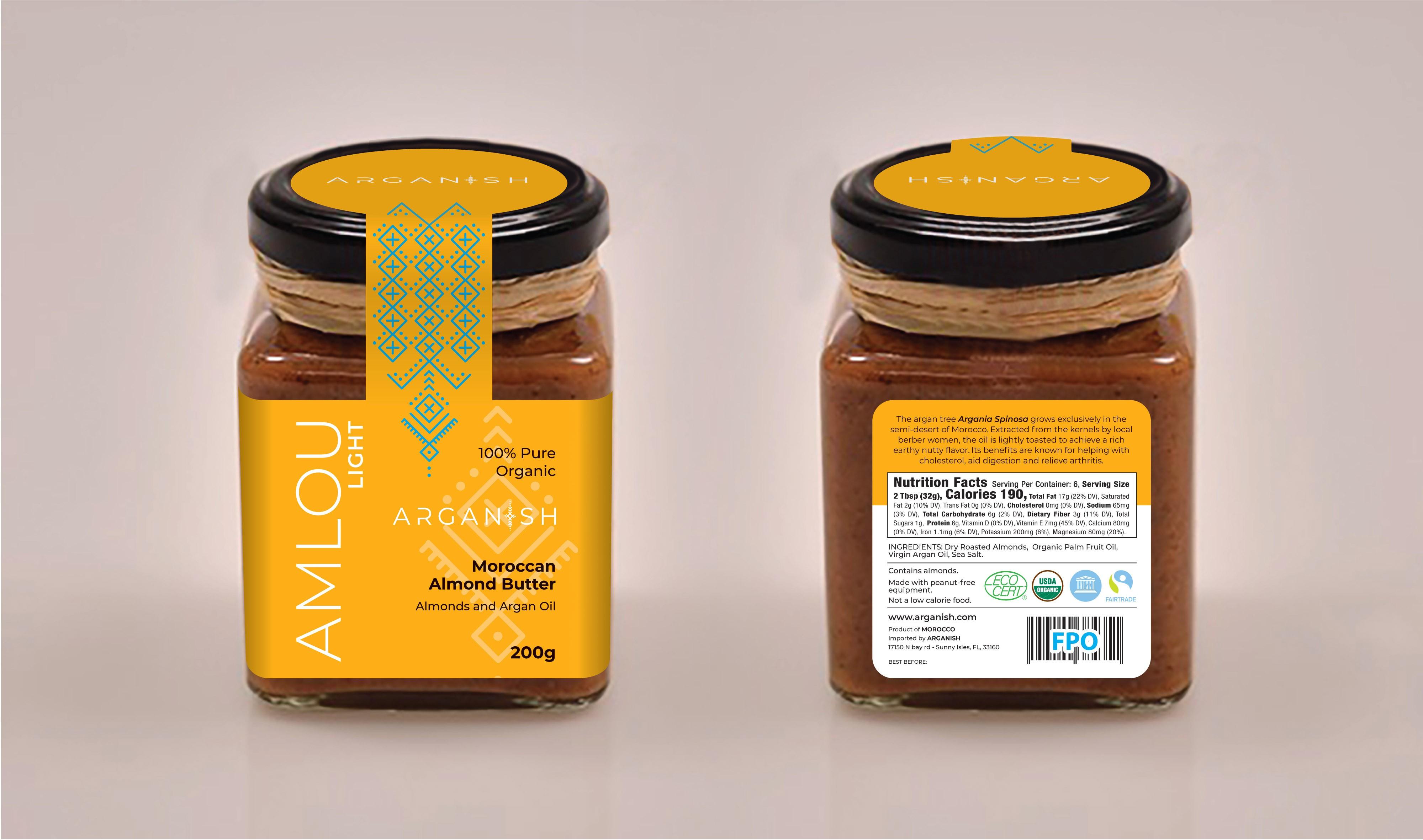 ARGANISH - Label for Little Jar