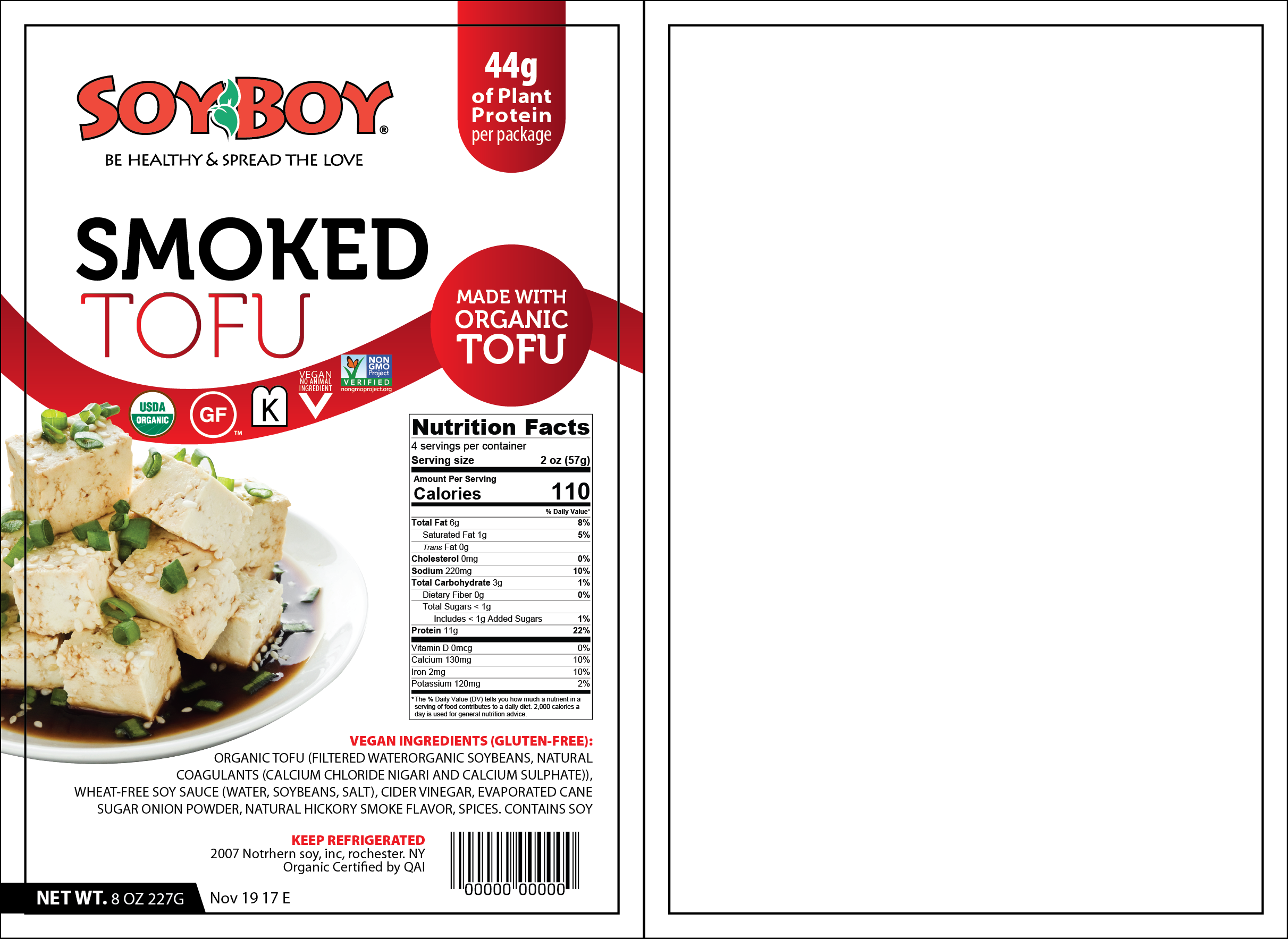SoyBoy Tofu Label Refresh