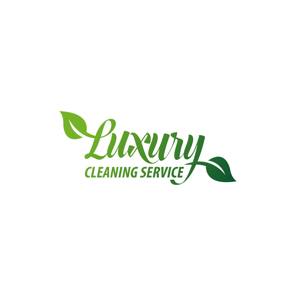 Luxury cleaning service Logo