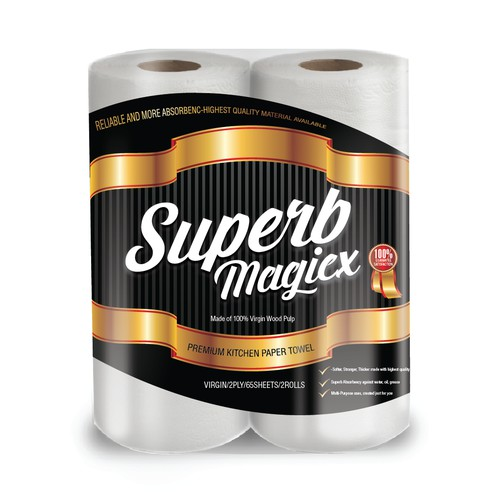 Create a SUPERB unique, special kitchen paper towel. *Attract buyers on first look* First Impression