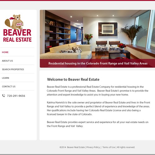 Real Estate Broker Homepage