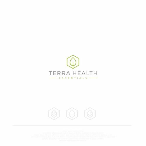 Terra Health logo design