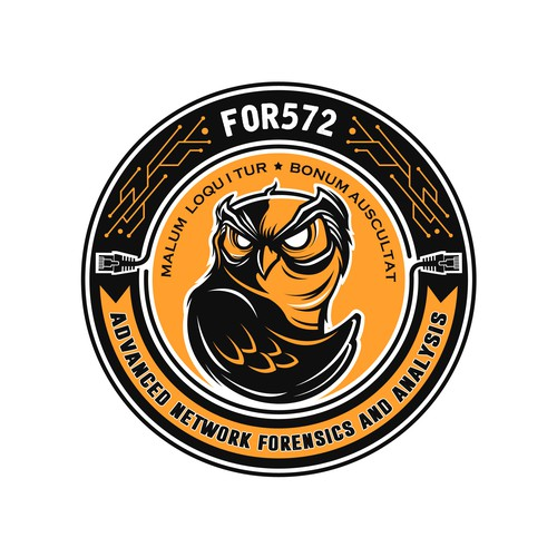 "FOR572 Network Forensic ""Challenge Coin"" Winner"