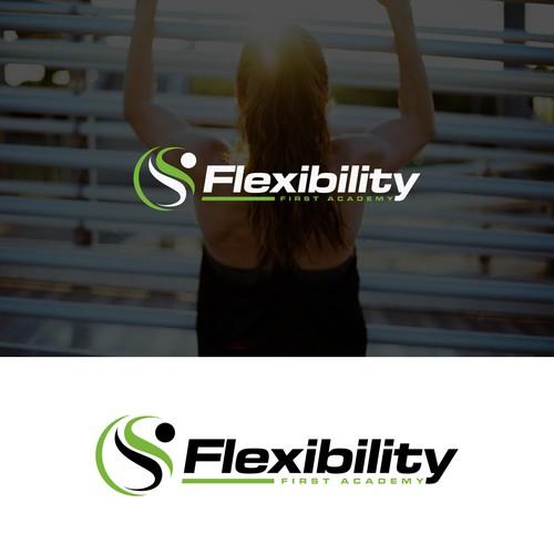 Flexibility first academy logo deisgn