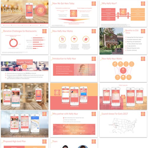 Halfy Hour Powerpoint Template