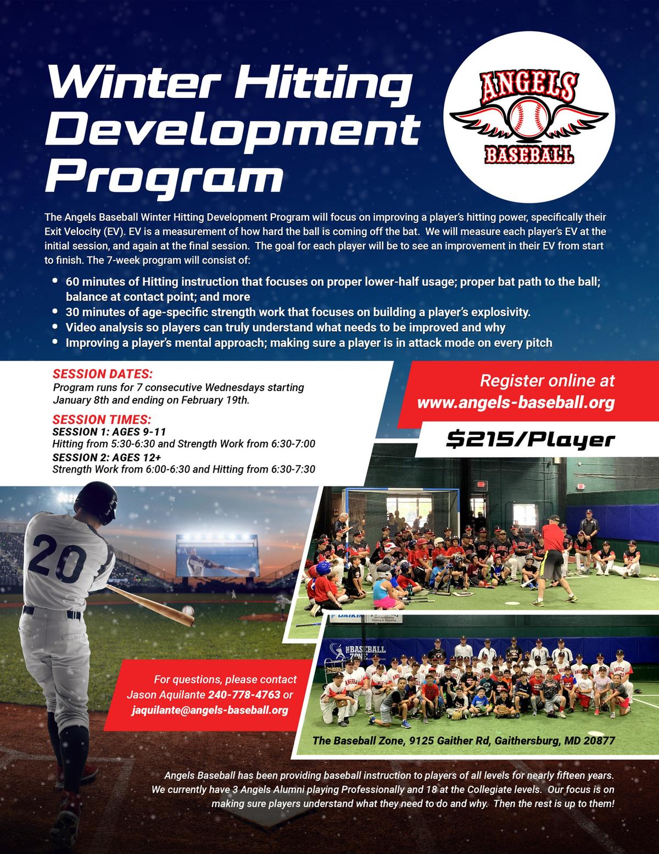 Winter Hitting Development Program