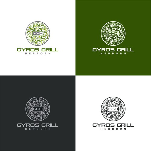 Logo for Gyros Grill