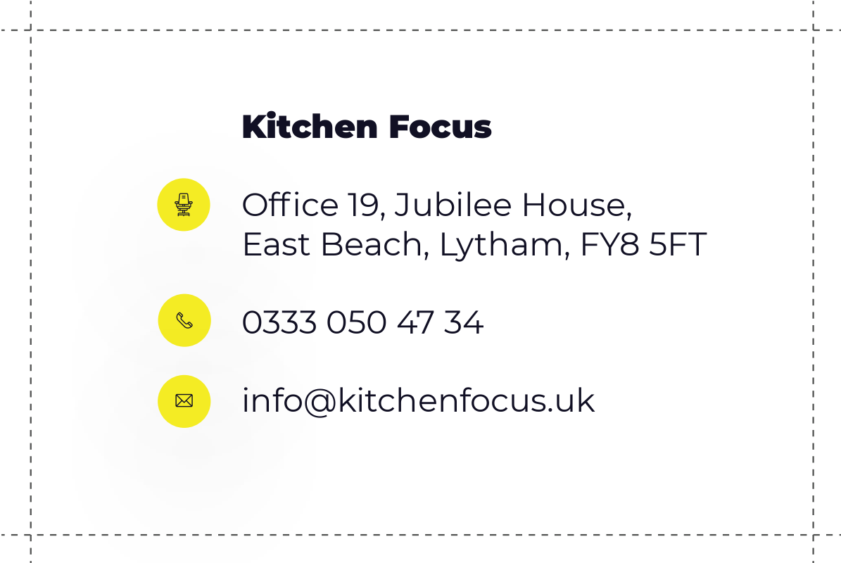 Kitchen Focus Business Card