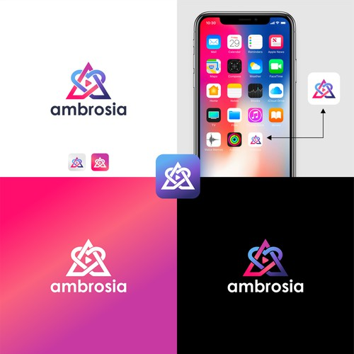 Logo concept for ambrosia