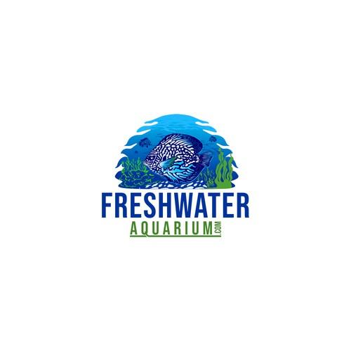 logo design aquarium