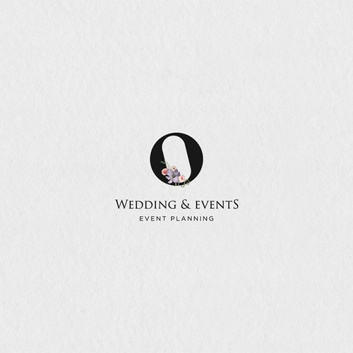Wedding and Event planner logo