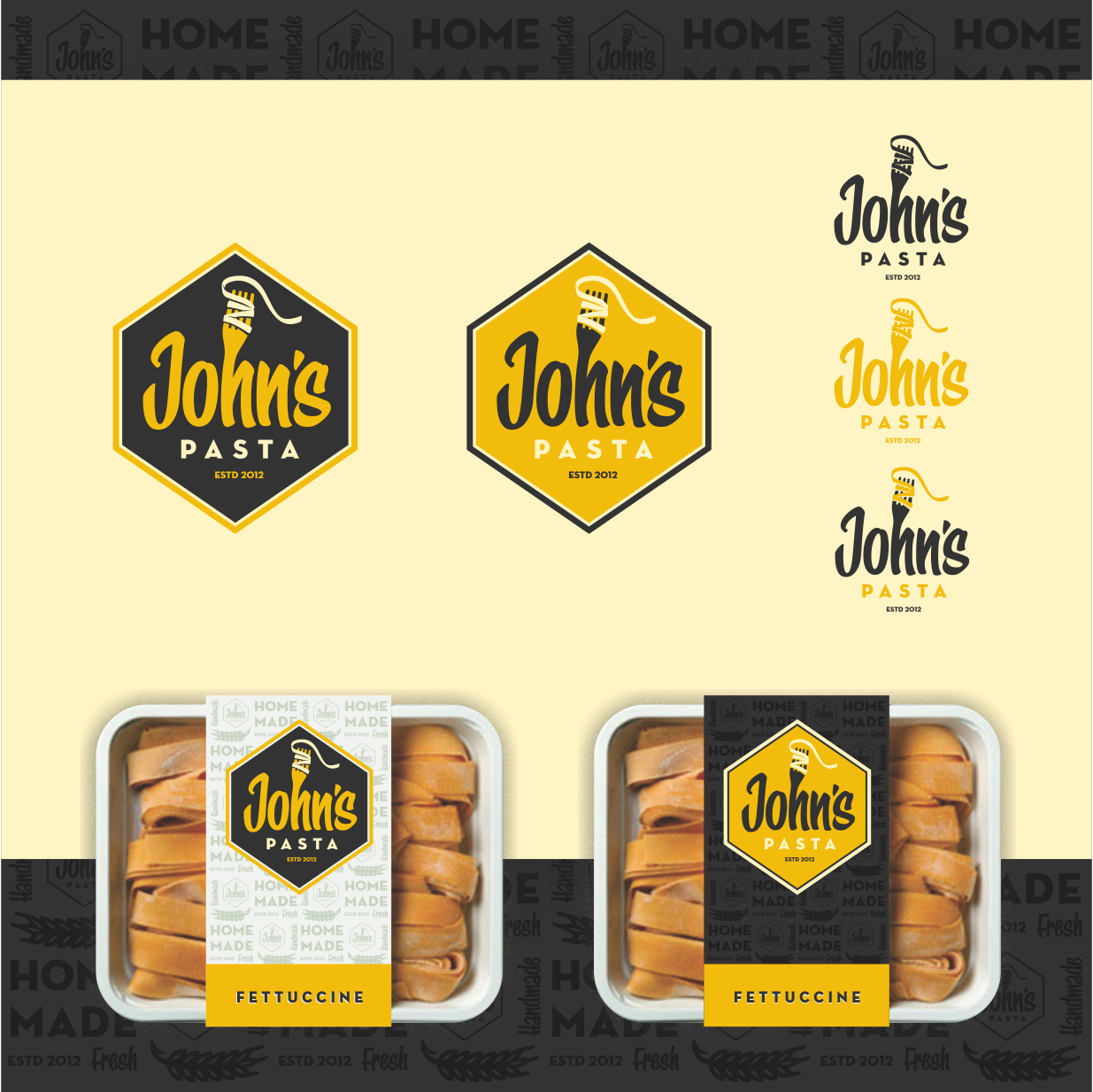 New vintage logo wanted for john's pasta