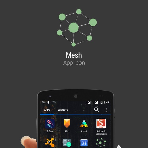 Simple APP Icon for Mesh