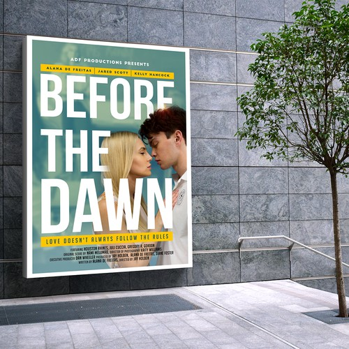 poster for the movie - Before the dawn