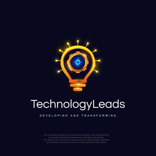 Logo Design for TechnologyLeads
