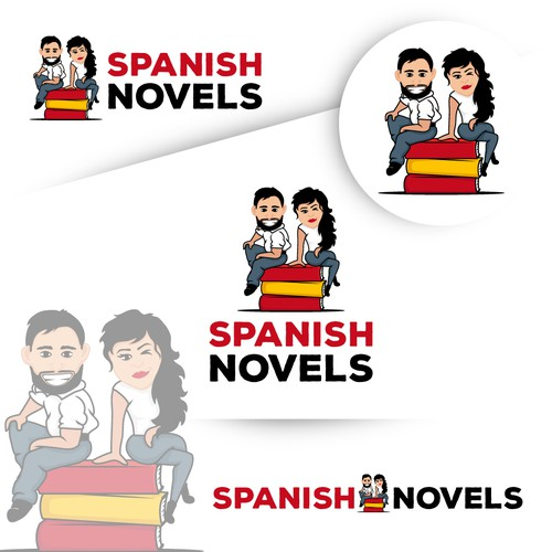 Spanish Novels logo design