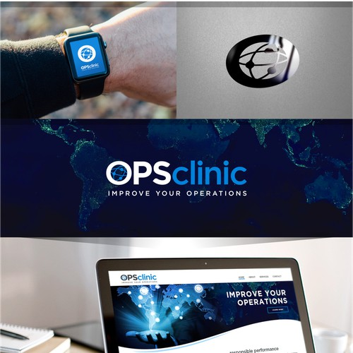 Fresh & Innovative logo concept for OPS Clinic