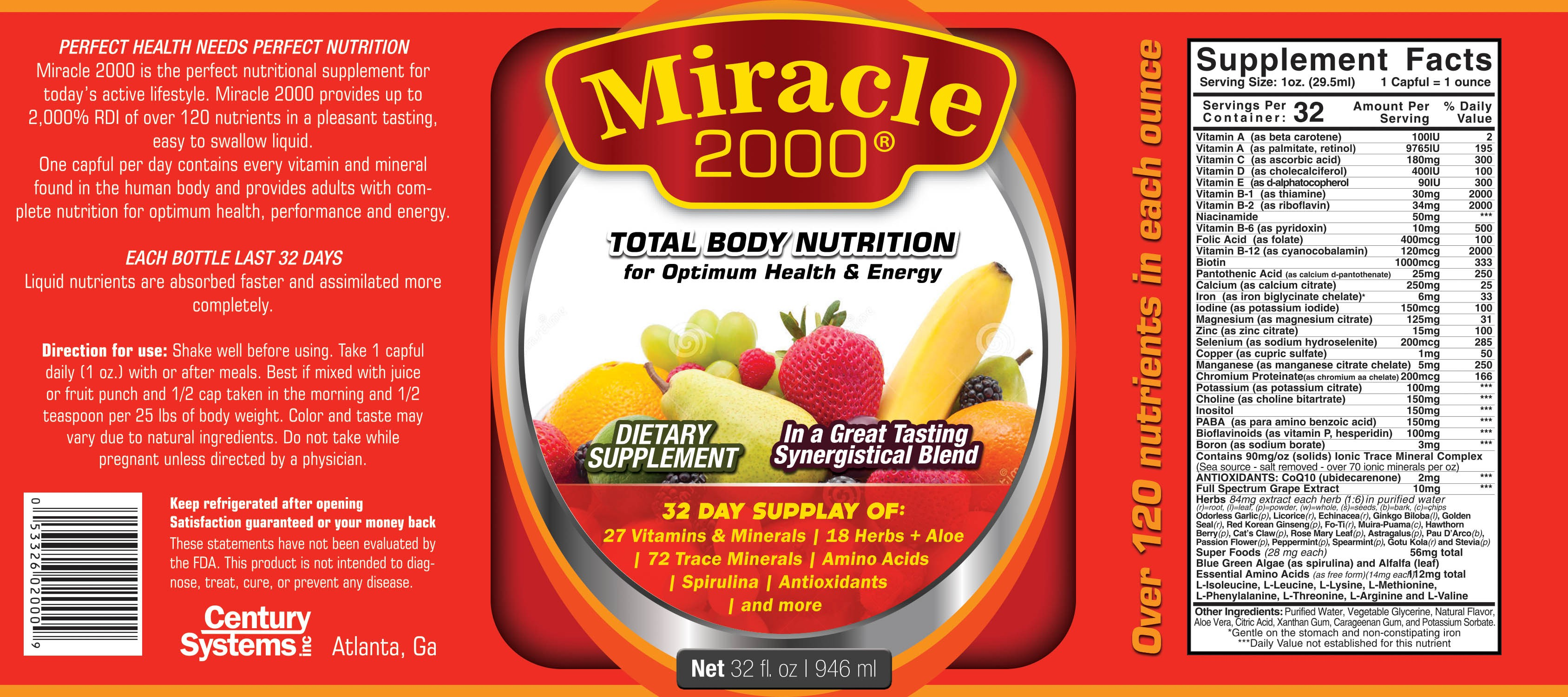 Miracle 2000 Refresh