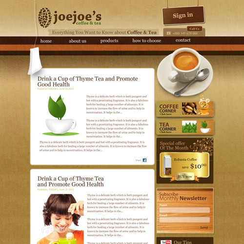 Joejoe's Coffee & Tea