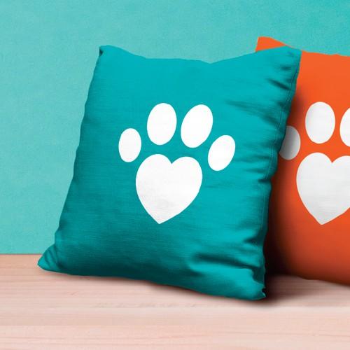 Brand logo for pet care