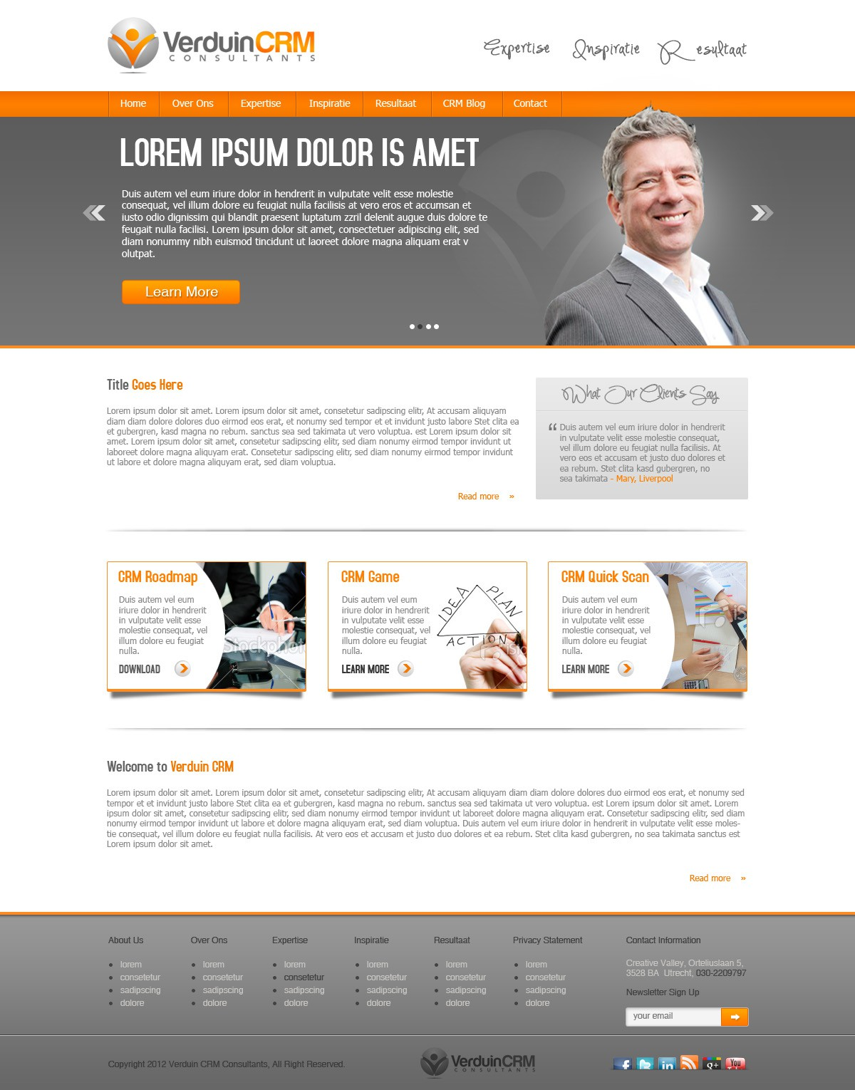 $600 website design for consultancy firm