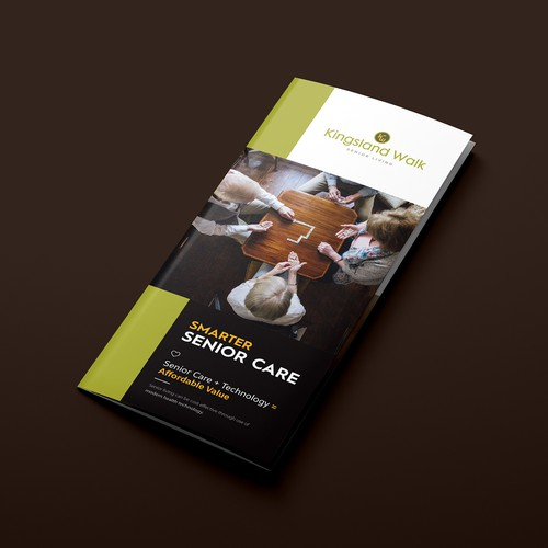 Senior Care Trifold Brochure