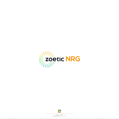 Logo design for zoetic NRG