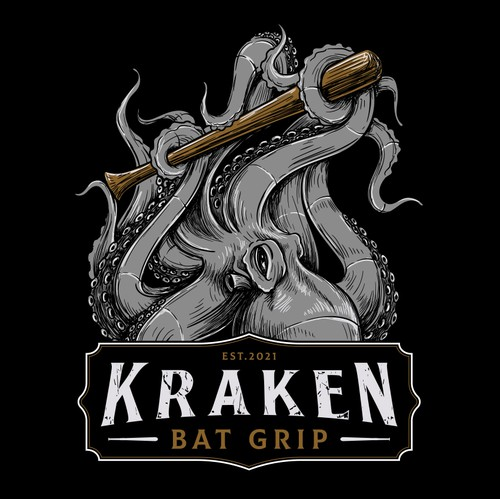 Kraken Bat Grip