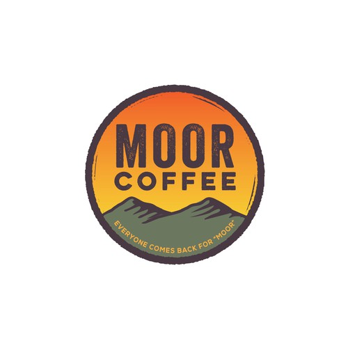 Logo for coffee company