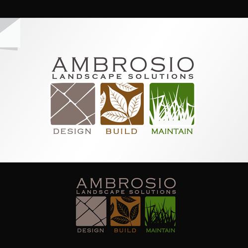 Landscape solutions logo design