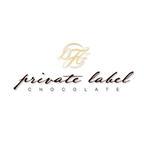 Logo concept for Private Label chocolates - Winning design