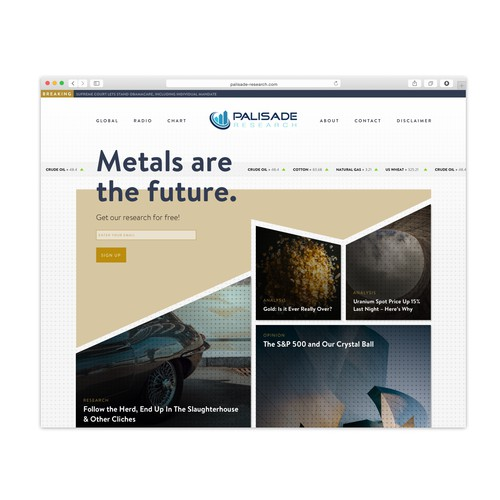 Metals Research