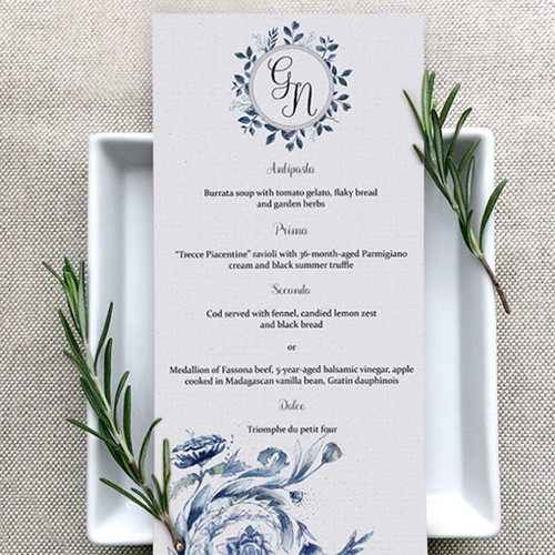 G&N Wedding Menu