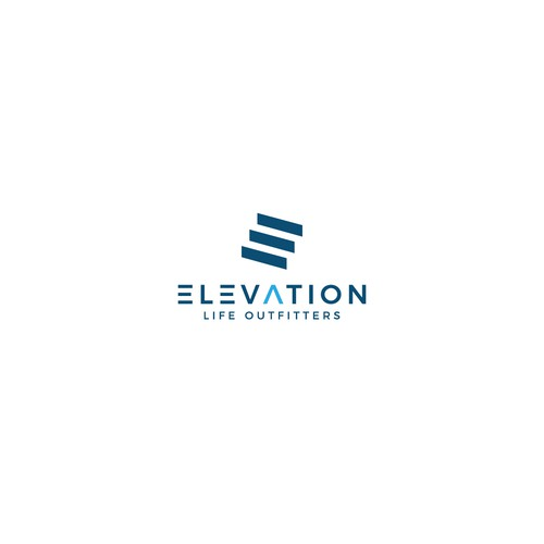 Logo concept for Elevation Life Outfitters