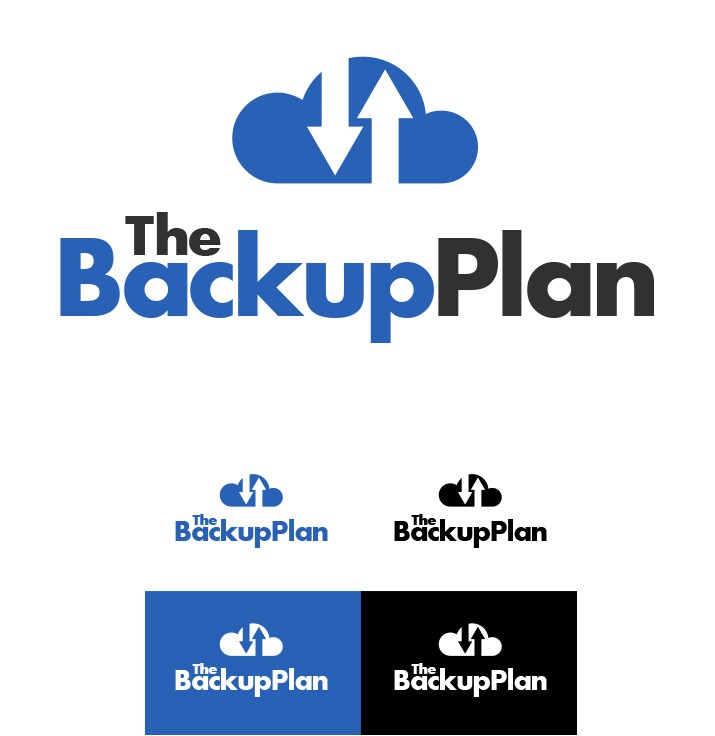 Create the next logo for The Backup Plan