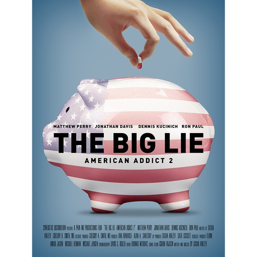 The Big Lie Documentary Poster