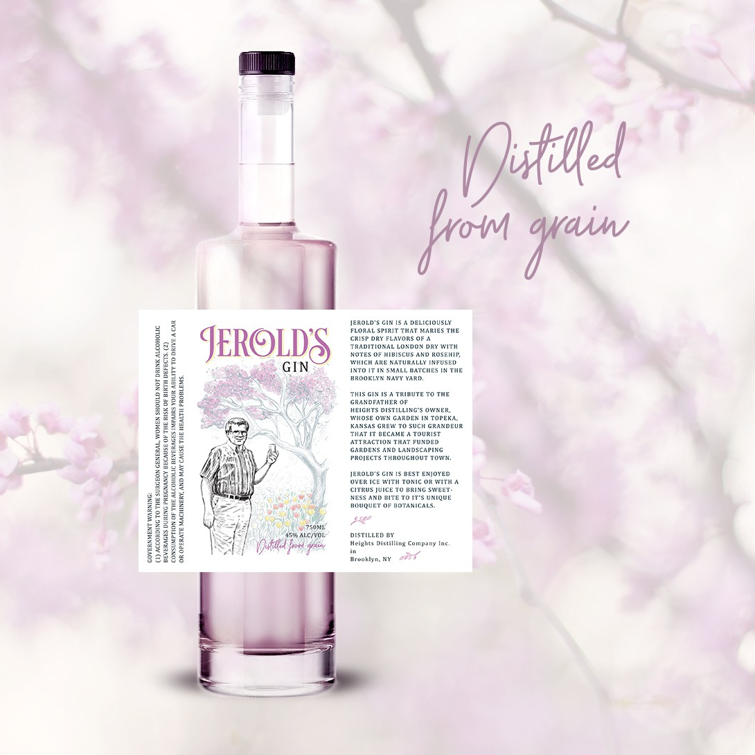 Fresher Labels for Pair of New Gin Products