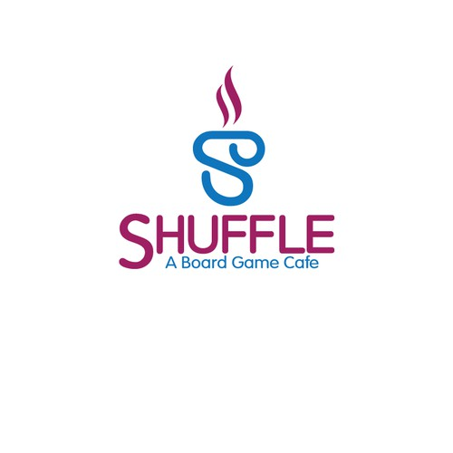 Logo for Shuffle - A Board Game Cafe