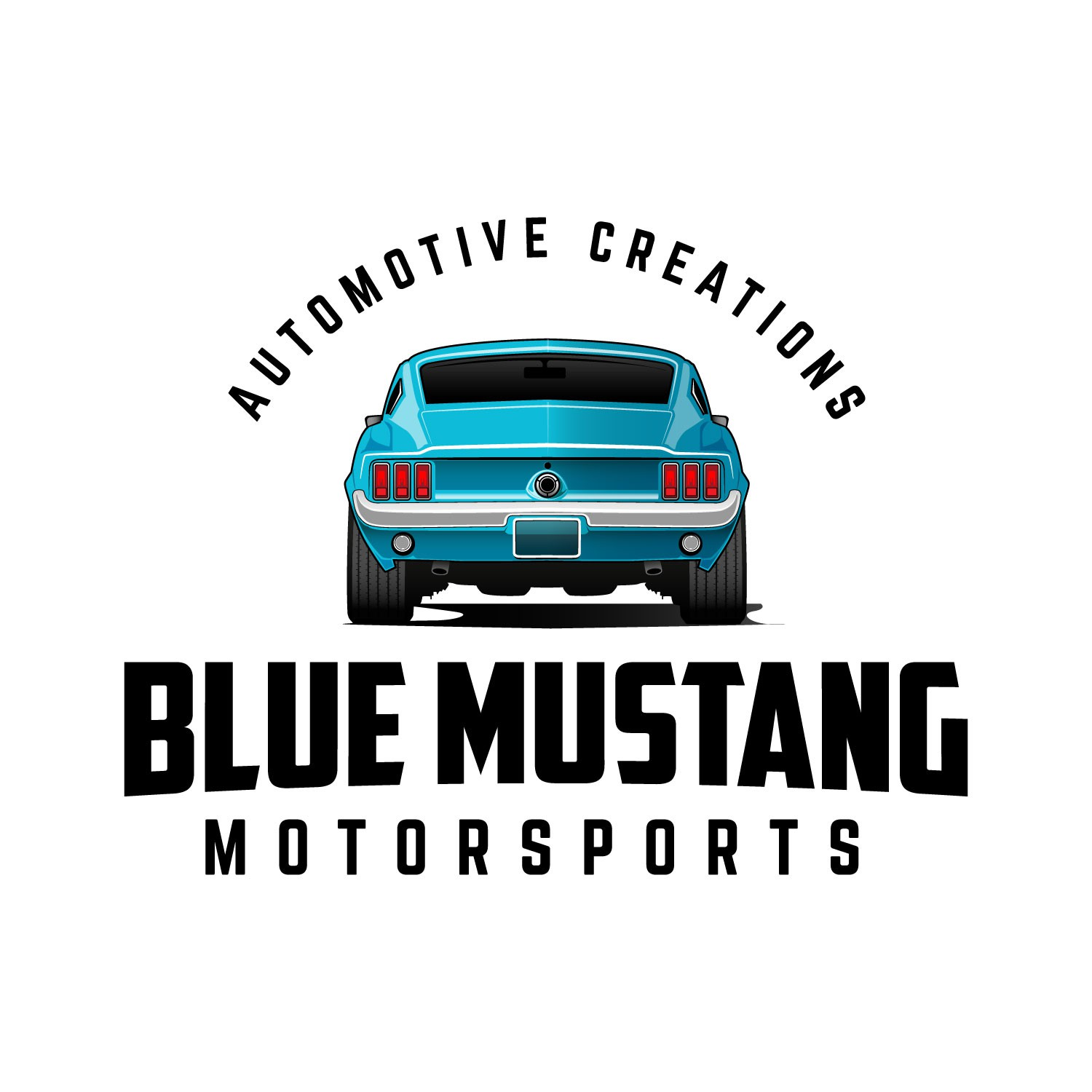 Logo for custom automotive builder.