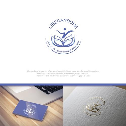 Liberándome logo design project