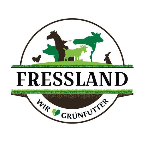 Re-Design Old Logo for green, fresh animal fodder