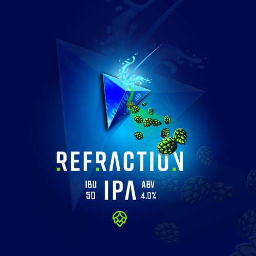 Beer Logo / Refraction IPA