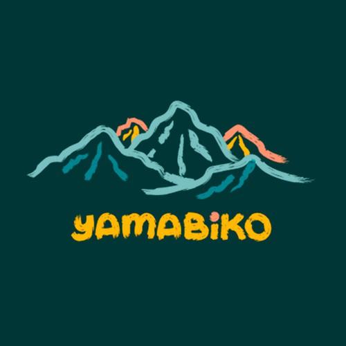 logo concept for yamabiko
