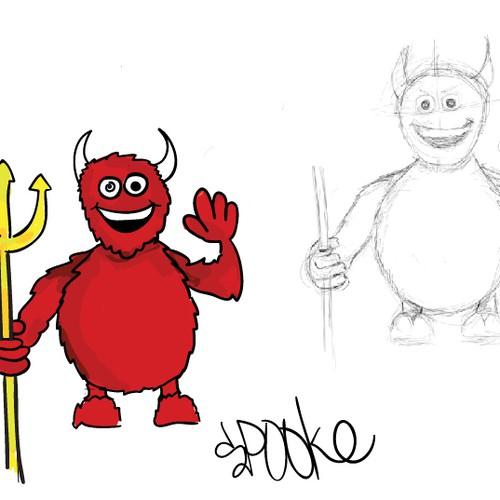hand drawn ogre
