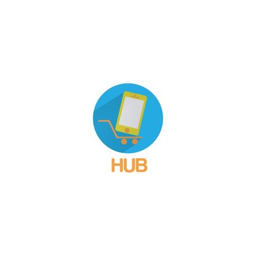 Flat Logo for Hub
