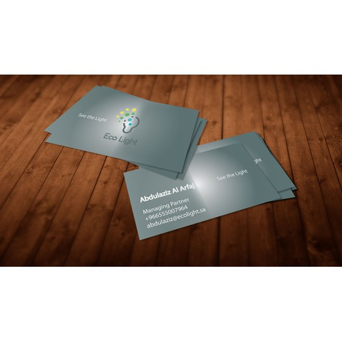 EcoLight Business Cards